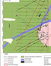 Hounde Project Soil Geochemistry & Structures in Ouere East